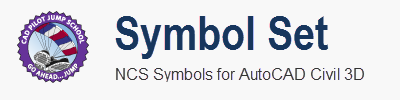 The Symbol Sets adds More to common civil engineering blocks and Point Styles AutoCAD Civil 3D